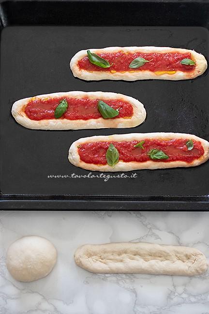 come fare le lingue di pizza