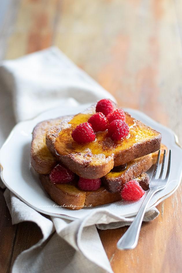 French toast ricetta originale