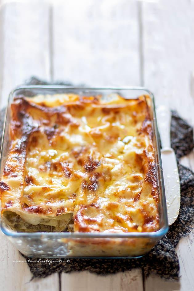 Lasagne ai carciofi -