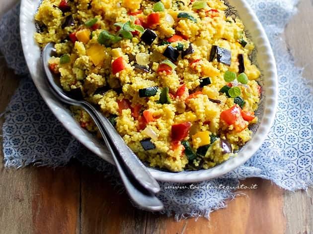 Tabbouleh - Tabulè di verdure