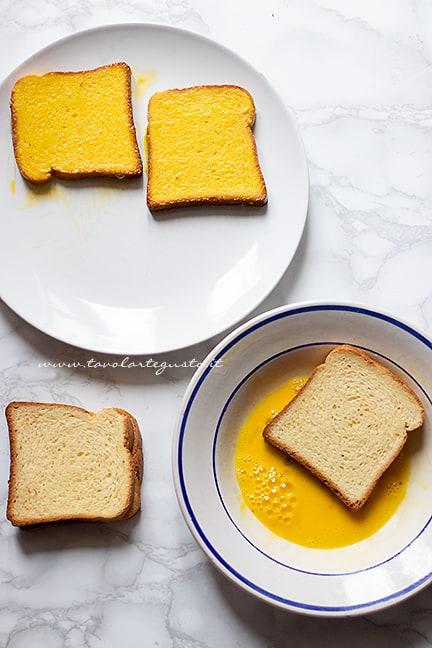 come fare il french toast