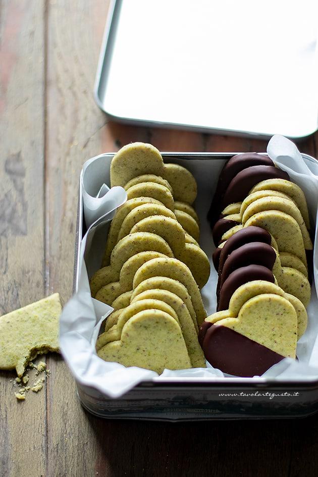 Biscotti al pistacchio -