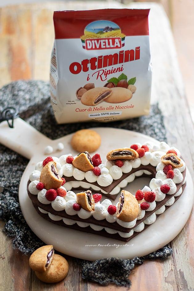 Cream tart al cioccolato ricetta