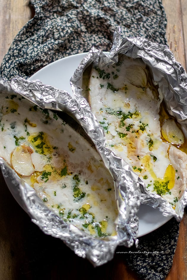 Pesce spada al forno-