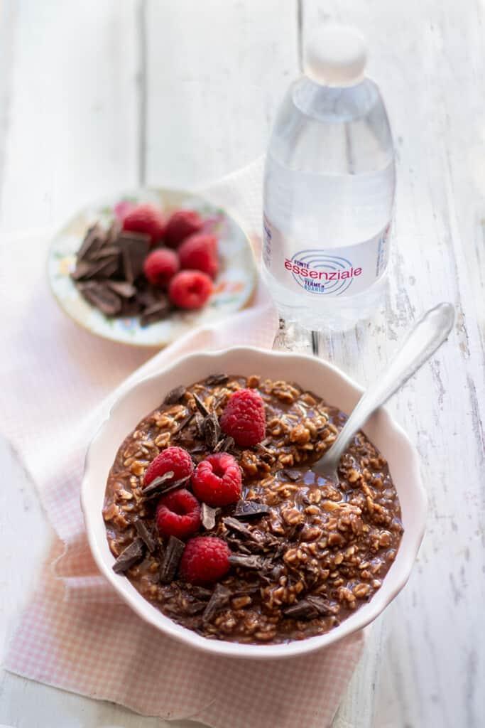 Porridge al cioccolato -