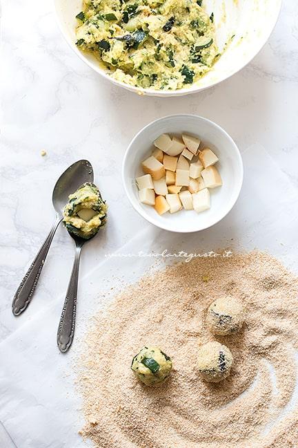 come fare le polpette di zucchine