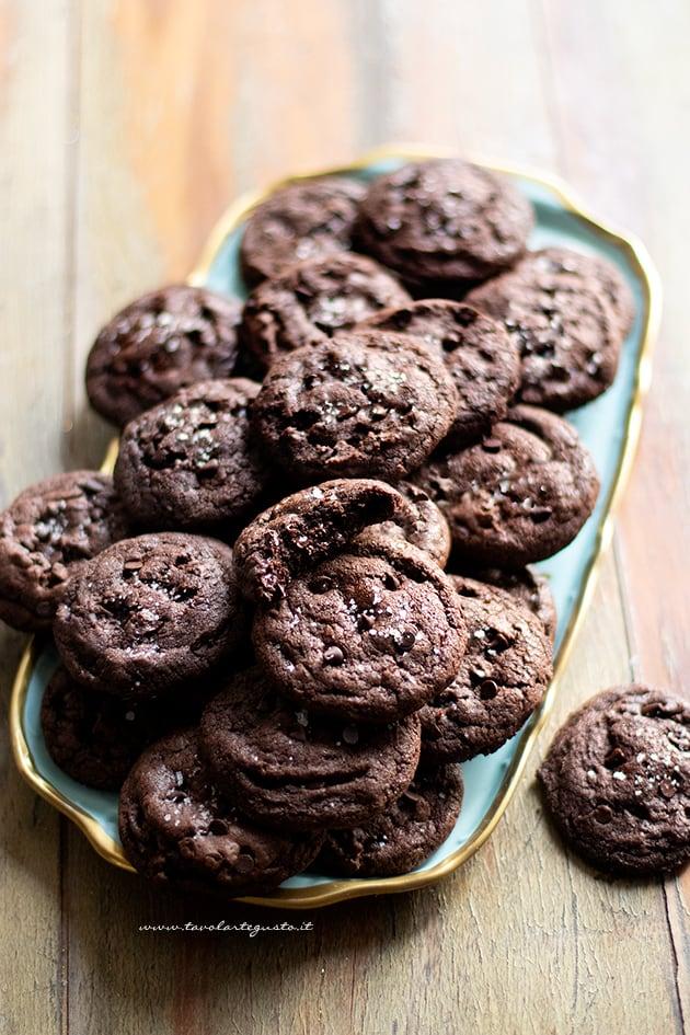 cookies al cioccolato-