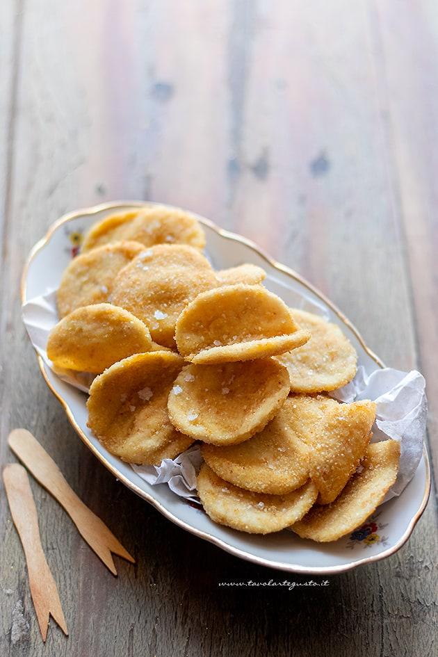 Chips di pollo -