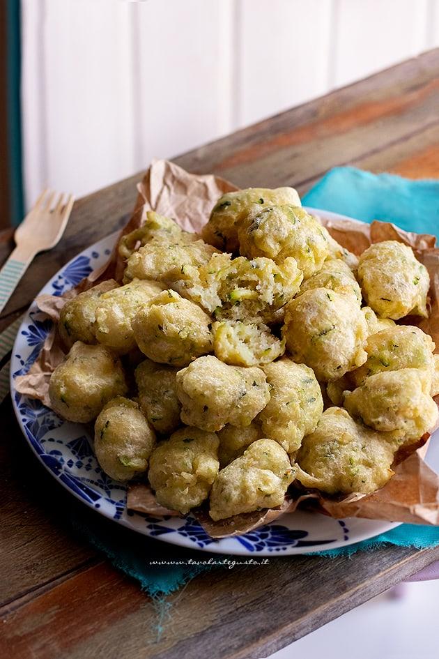 Frittelle di zucchine-