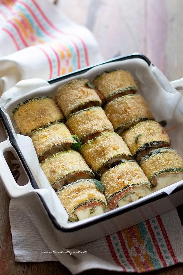 Involtini di zucchine -