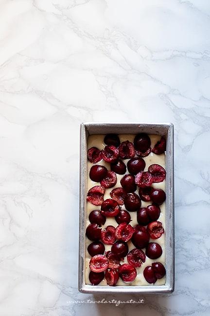 come fare il plumcake alle ciliegie
