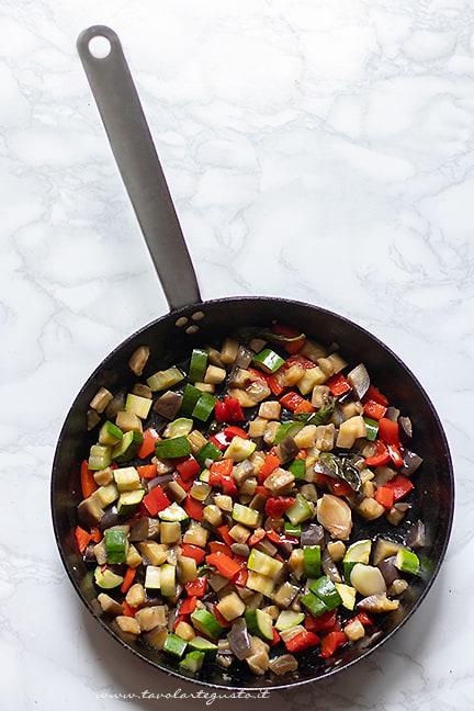 come fare la pasta integrale con verdure