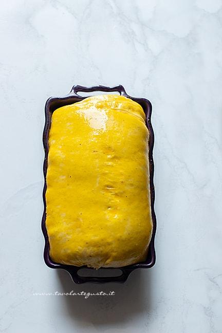 cuocere il pan brioche salato