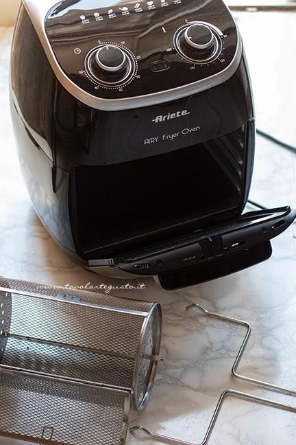 cuocere nella friggitrice ad aria