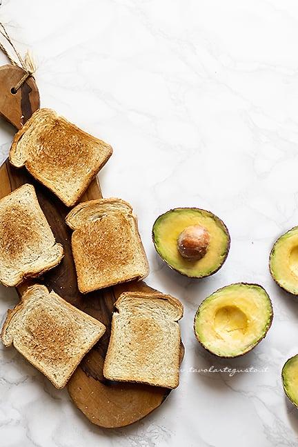 come fare l'avocado toast