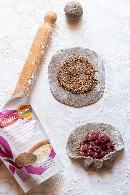 farcire le galette senza glutine