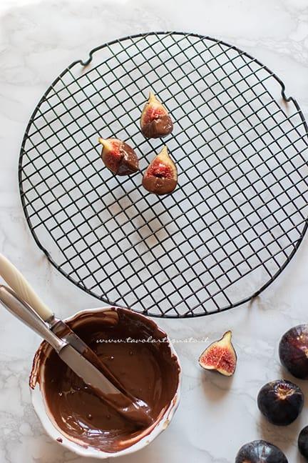 come fare i fichi al cioccolato