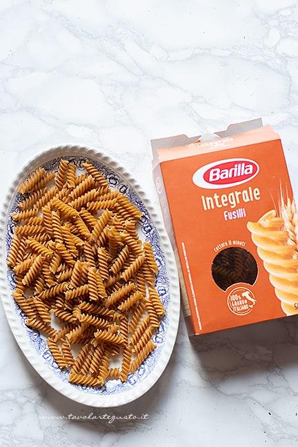 come fare la pasta integrale con crema di peperoni