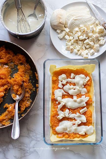 come fare le lasagne alla zucca