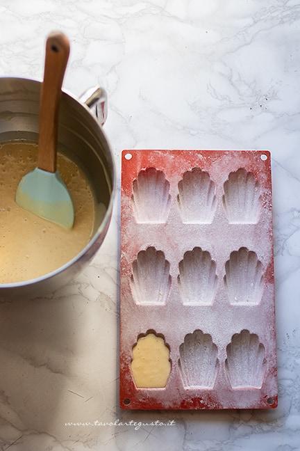 come fare le madeleine