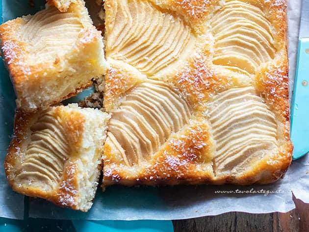 Torta cocco e mele