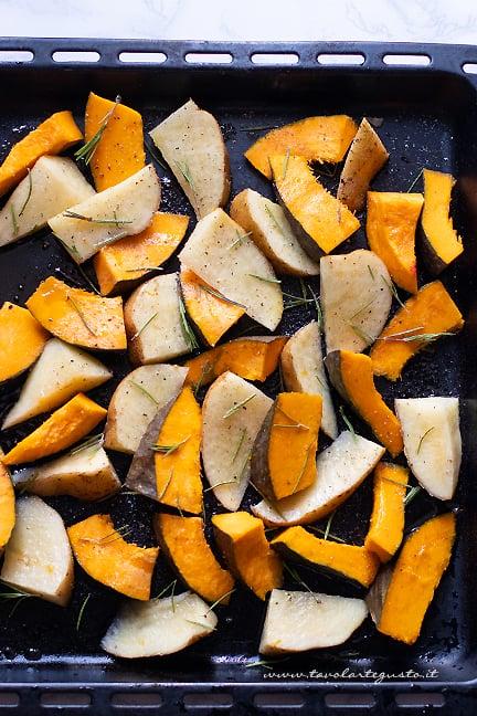 come fare zucca e patate