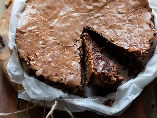 torta noci e cioccolato